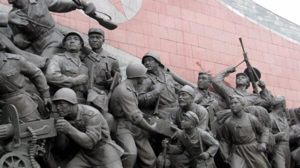 North Korean Soldiers Memorial