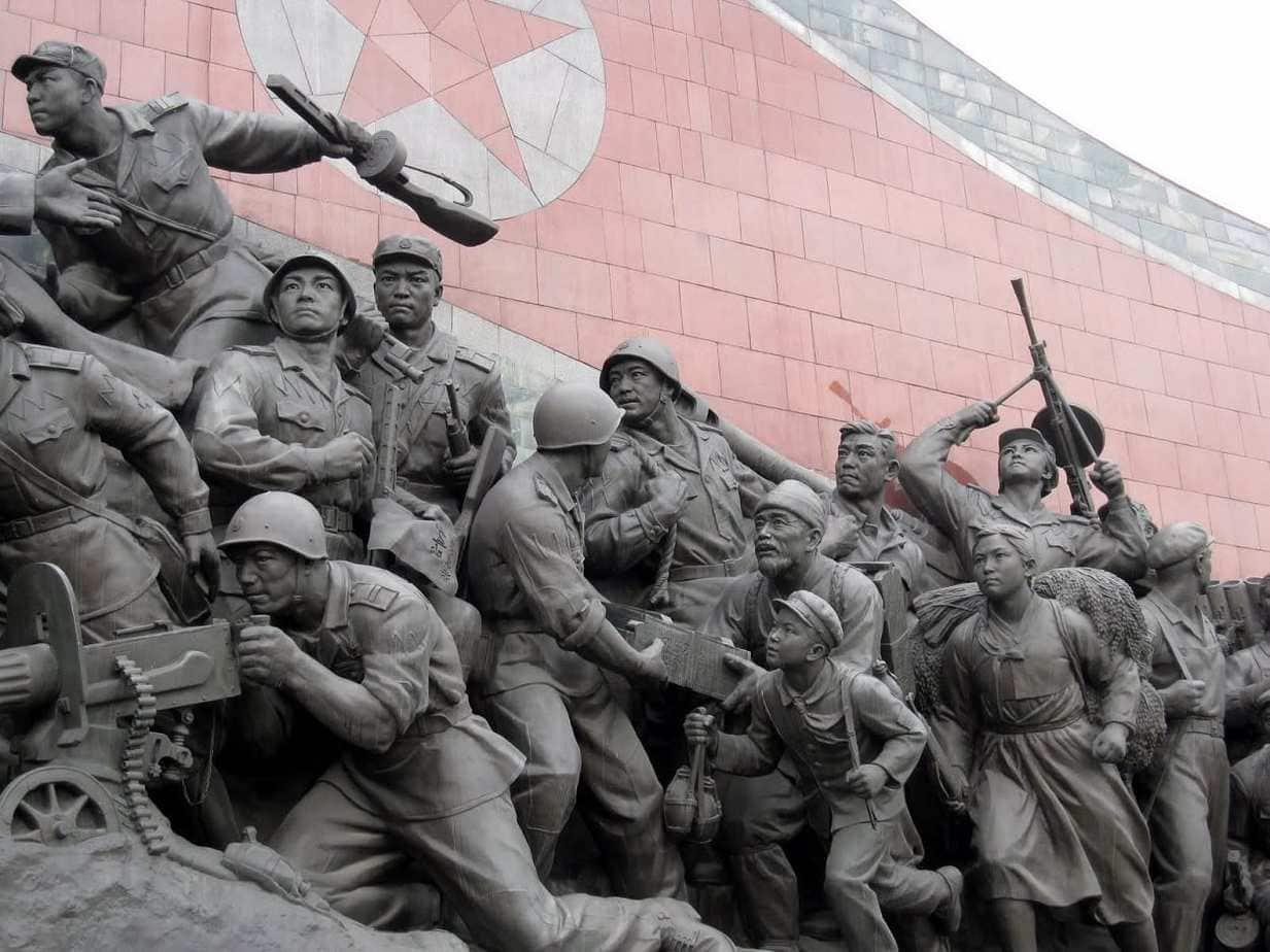North Korean Soldiers Memorial