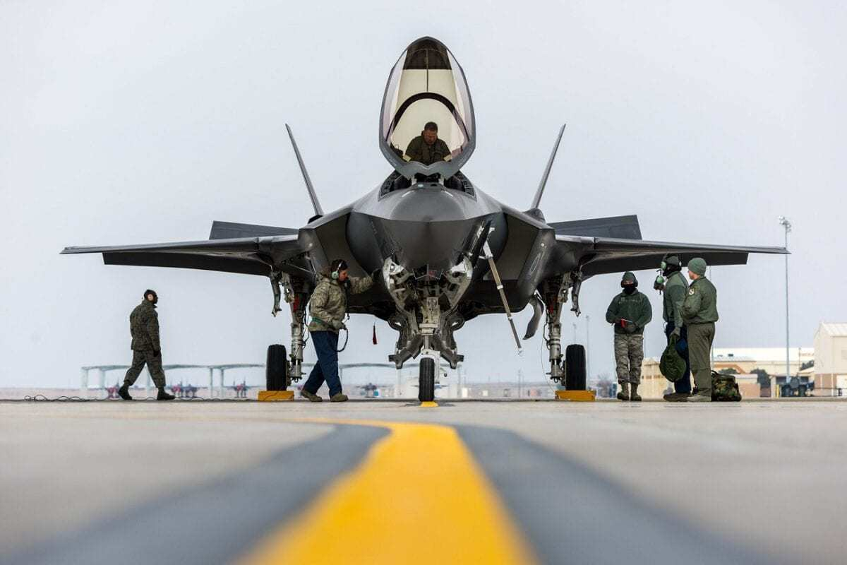 F-35 on Tarmac