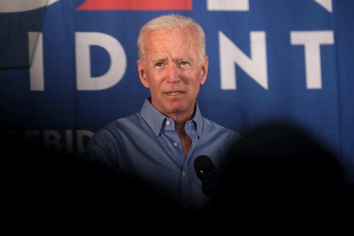 Joe Biden Campaigning