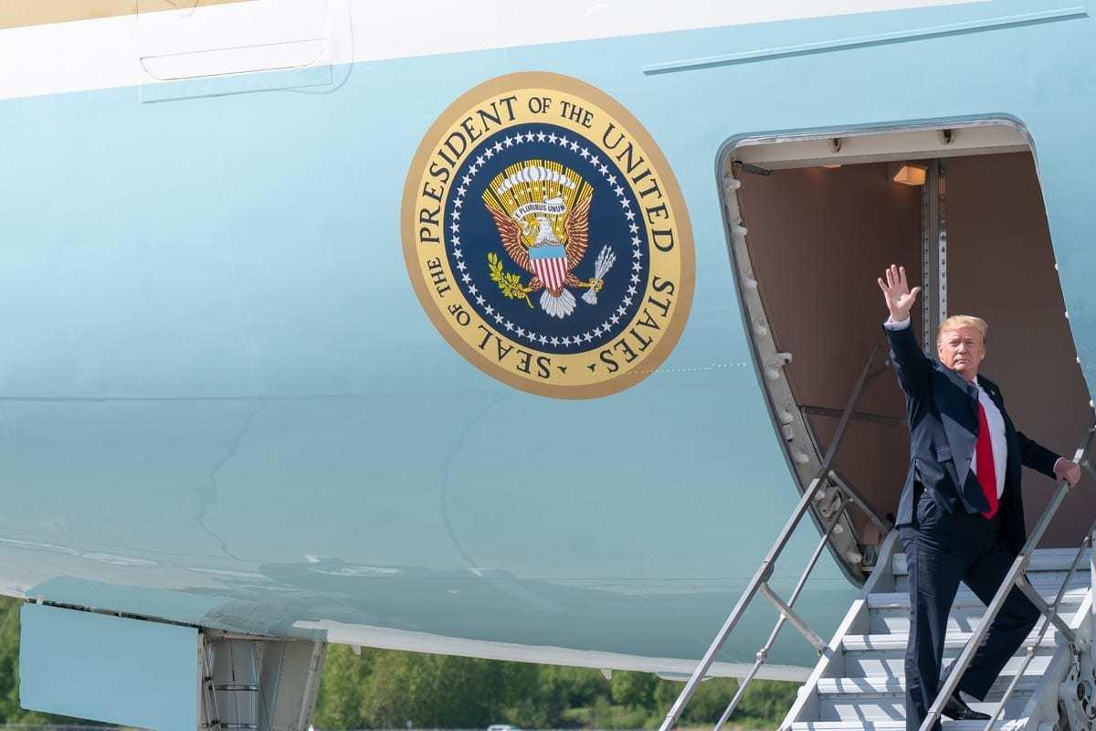 Trump in Alaska