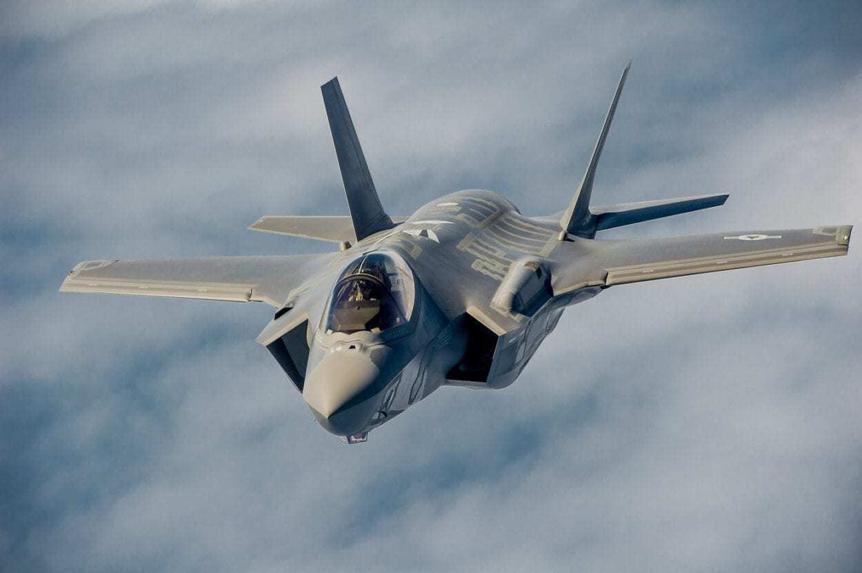 F-35 A in Flight