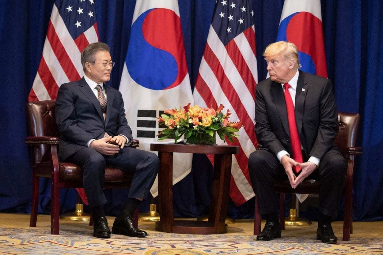Trump and Moon