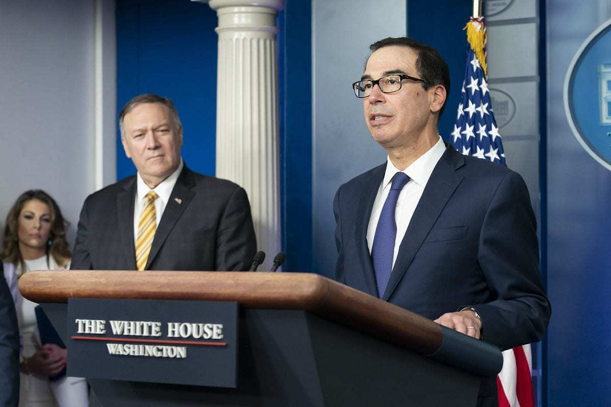Secretary Pompeo and Secretary Mnuchin Speak to Reporters