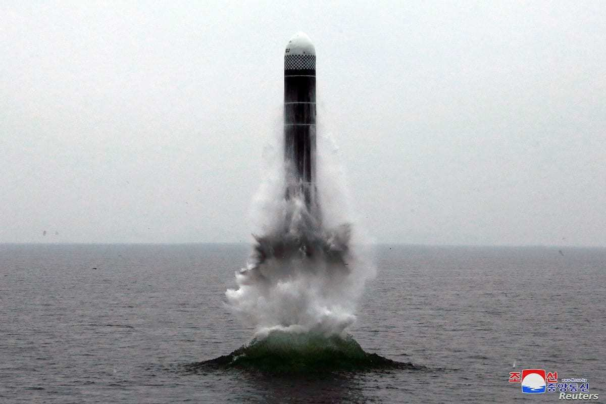 SLBM from DPRK