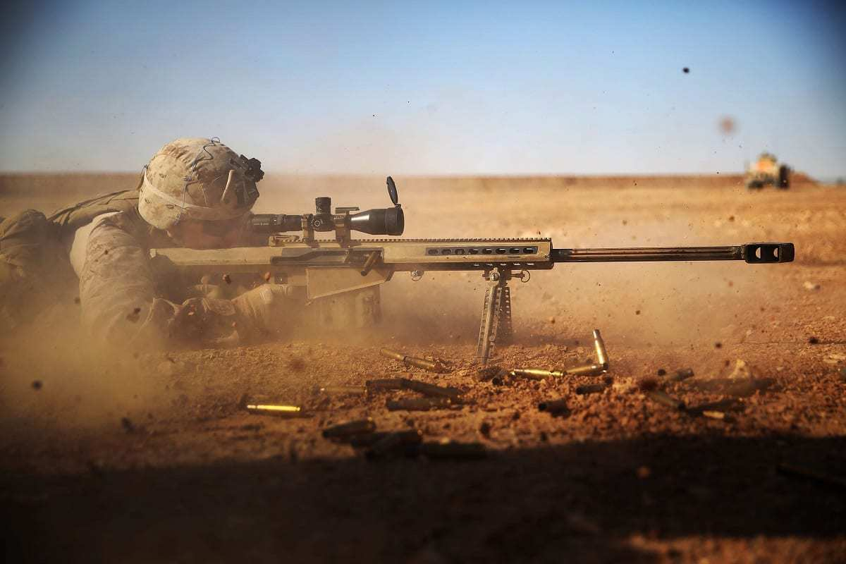 M82 Firing