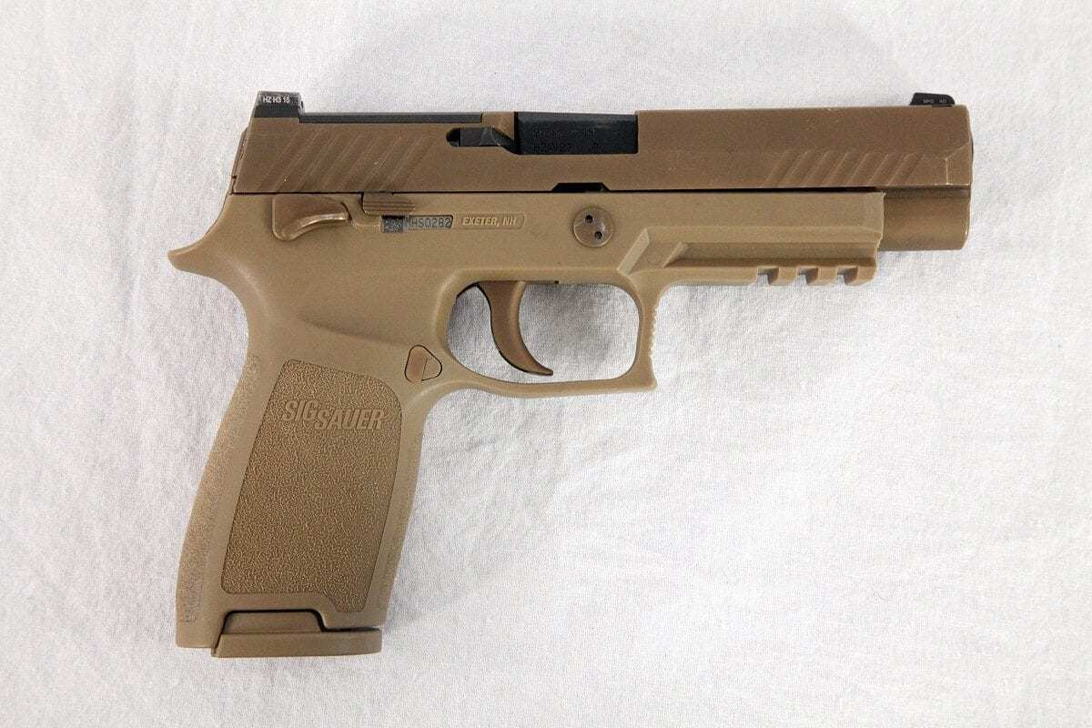 Photograph of the XM17/XM18 Modular Handgun