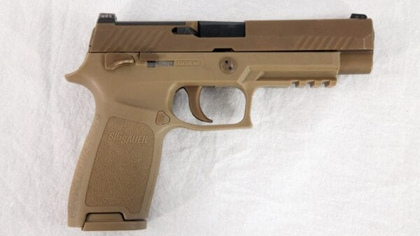 Photograph of the XM17/XM18 Modular Handgun
