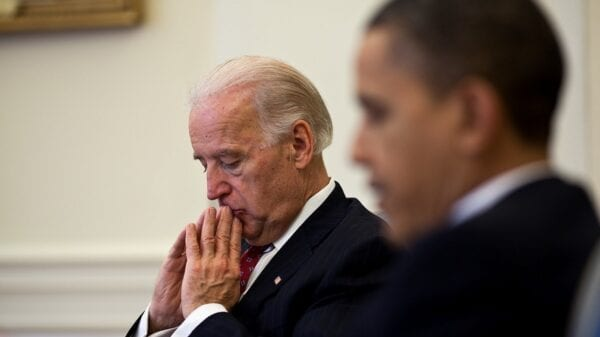 Joe Biden in Deep Thought