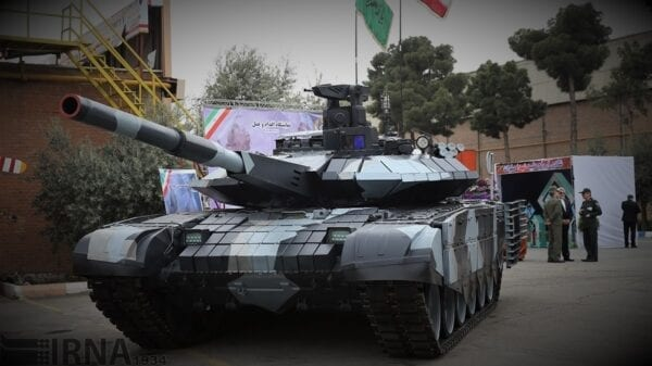 Iranian 3rd Generation Advanced Karrar Tank