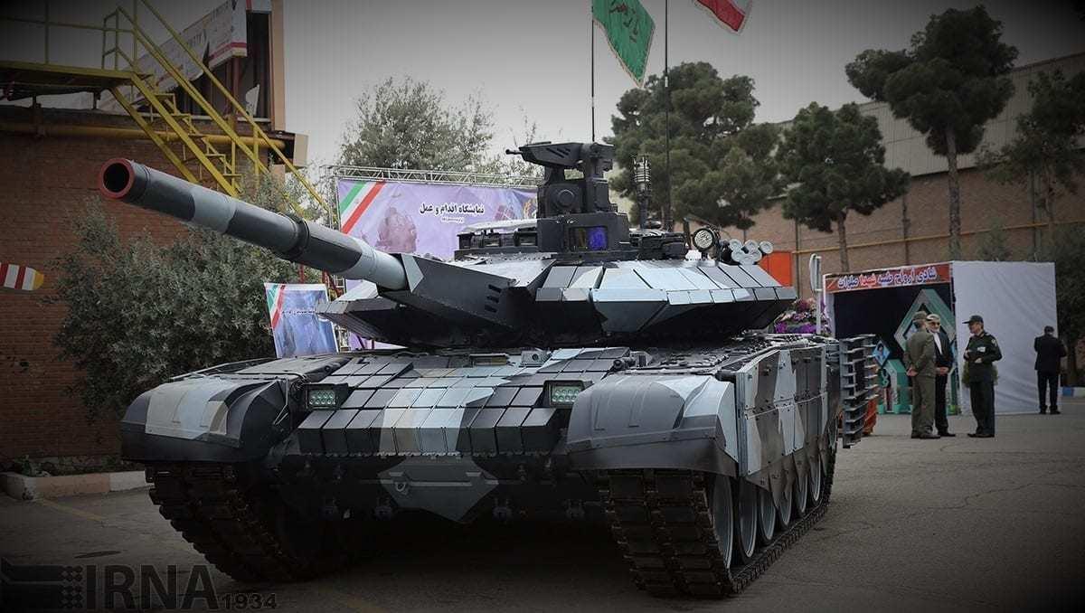 Iranian 3rd Generation Advanced Karrar Tank