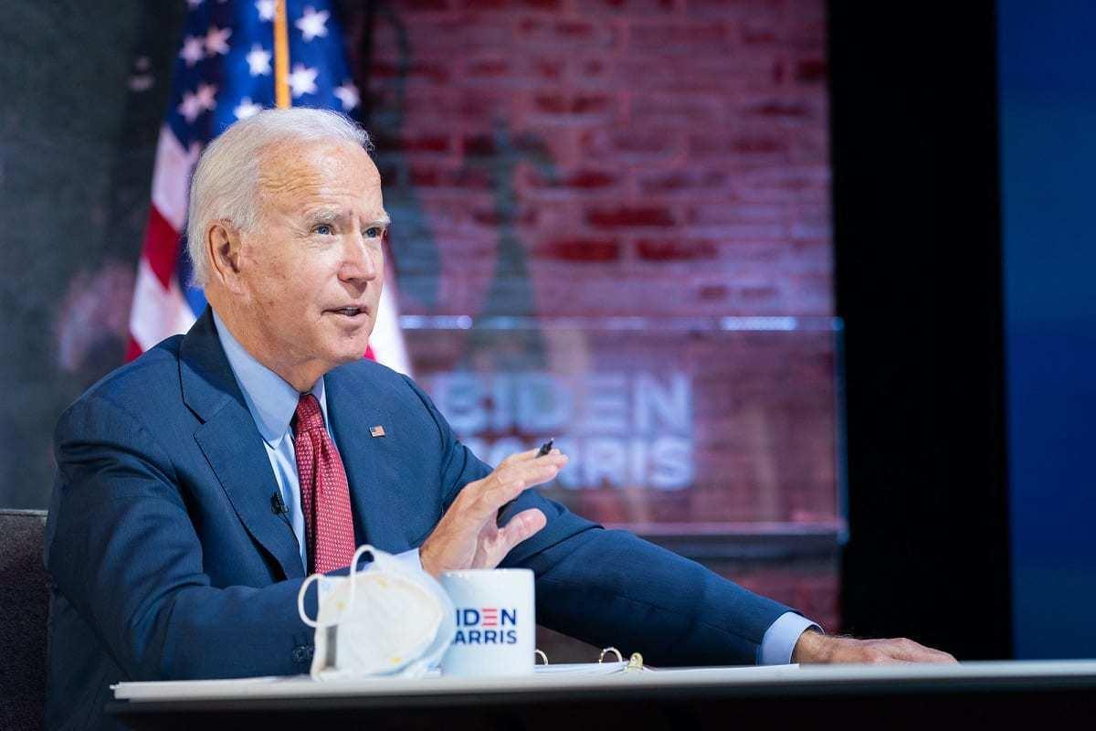 Joe Biden Gives Briefing