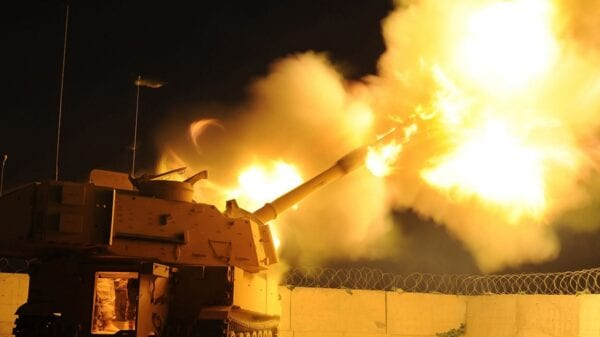 M-109A6 Paladin Self Propelled Howitzer