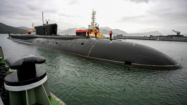 Borei-class Submarine.