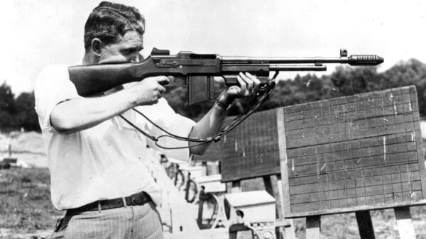 Browning Automatic Rifle, 1936 FBI Training