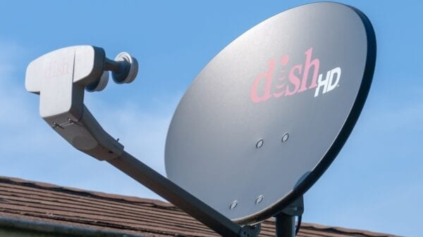 Dish Network HD satellite dish