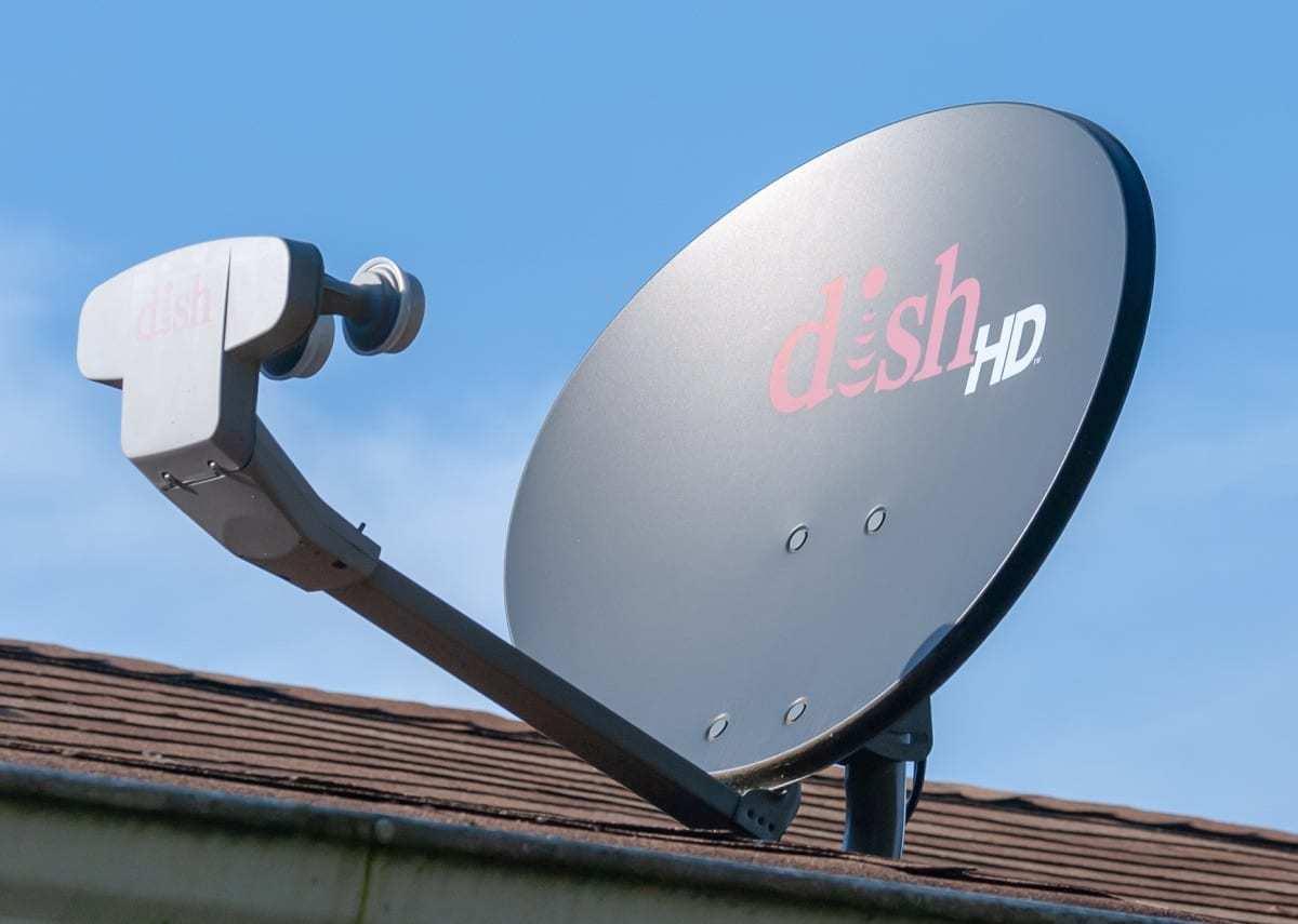 Dish Network HD satellite dish