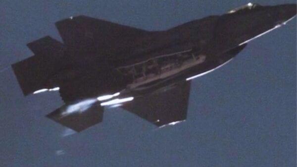 F-35A Nuclear Bomb Test
