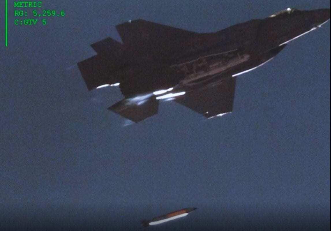 F-35 Nuclear Bomb Test