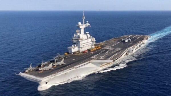 Charles De Gaulle nuclear-powered aircraft carrier