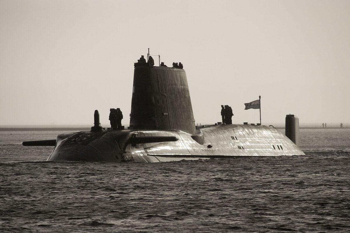 HMS Astute.