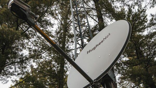 HughesNet Satellite Internet Dish