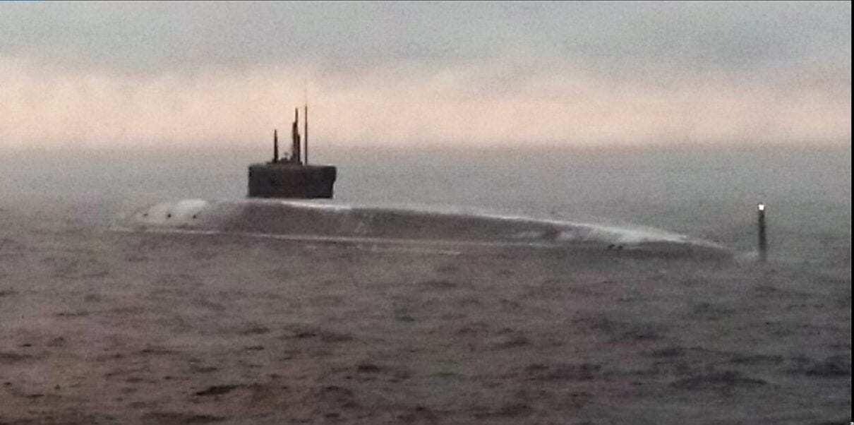 Russian Navy Borei-class.