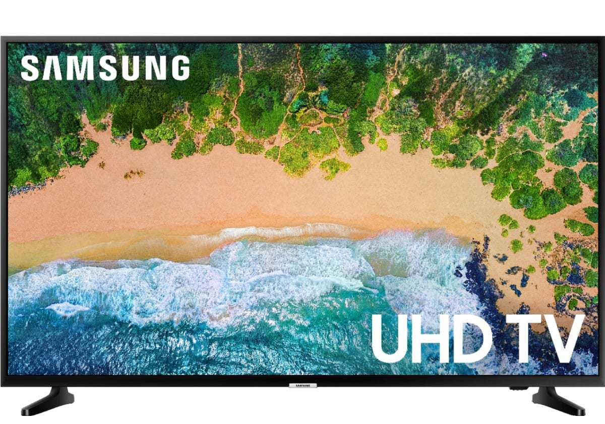 LED TV from Samsung.