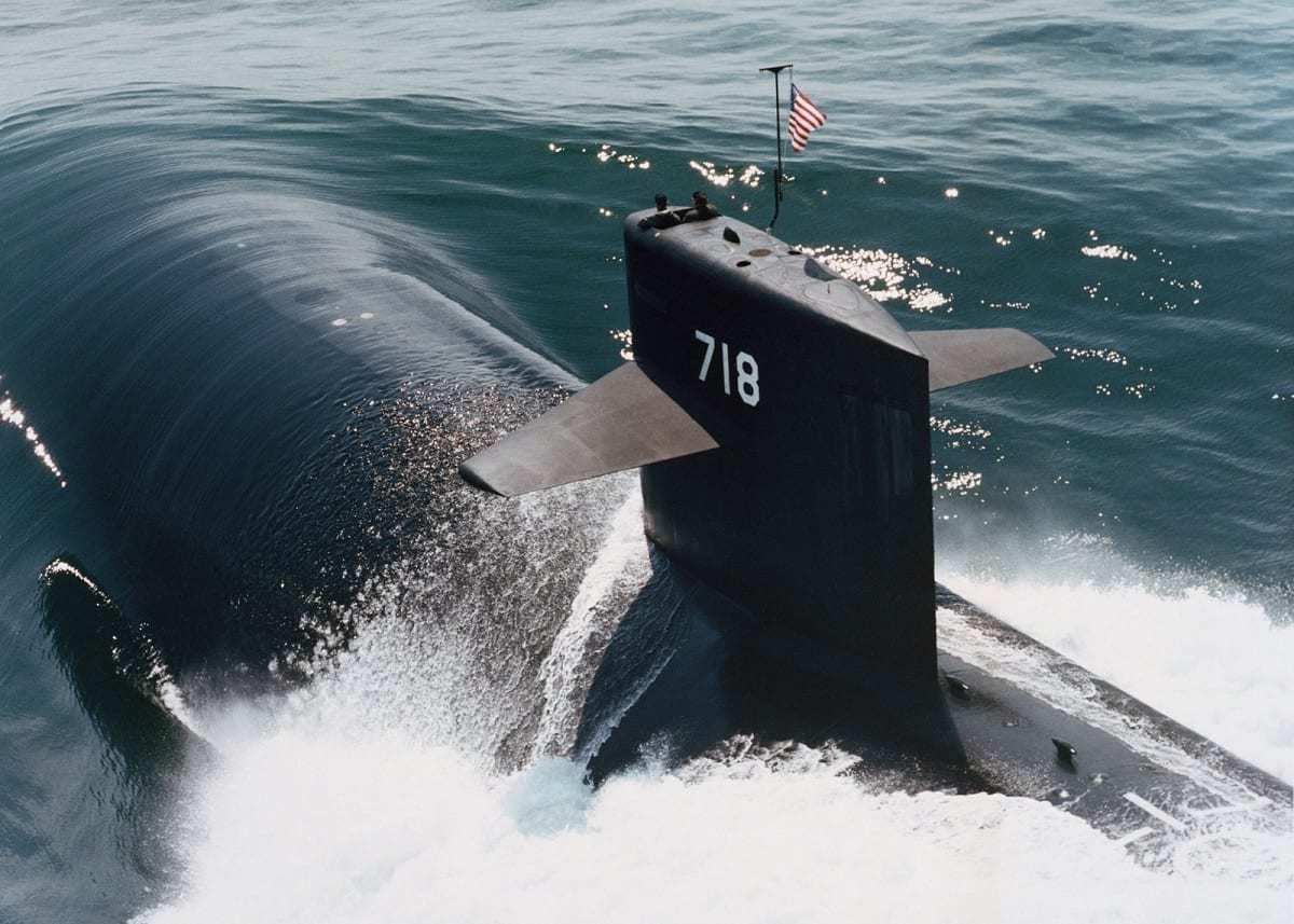 Los Angeles-Class Nuclear Submarine