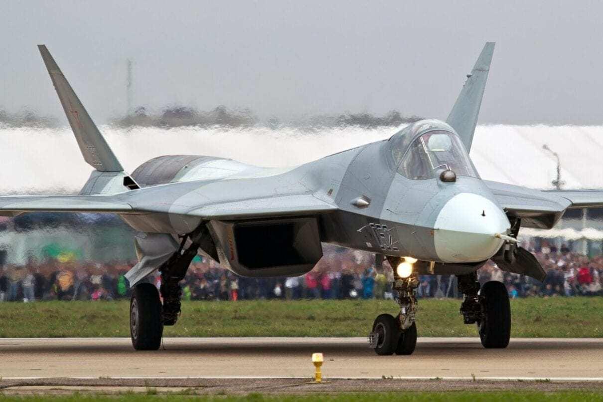 Russia's Su-57 Stealth Fighter.