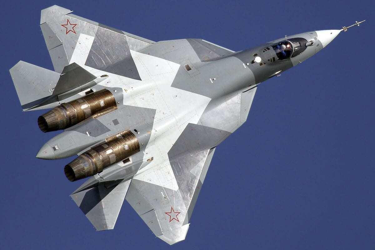Su-57 in 2011