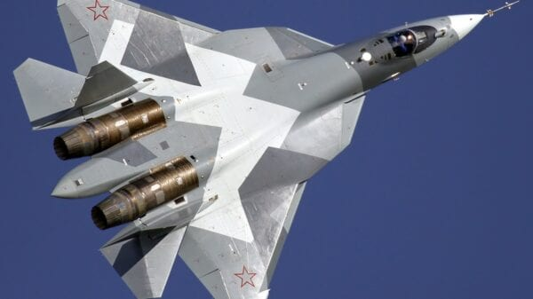 Russian Stealth Fighters