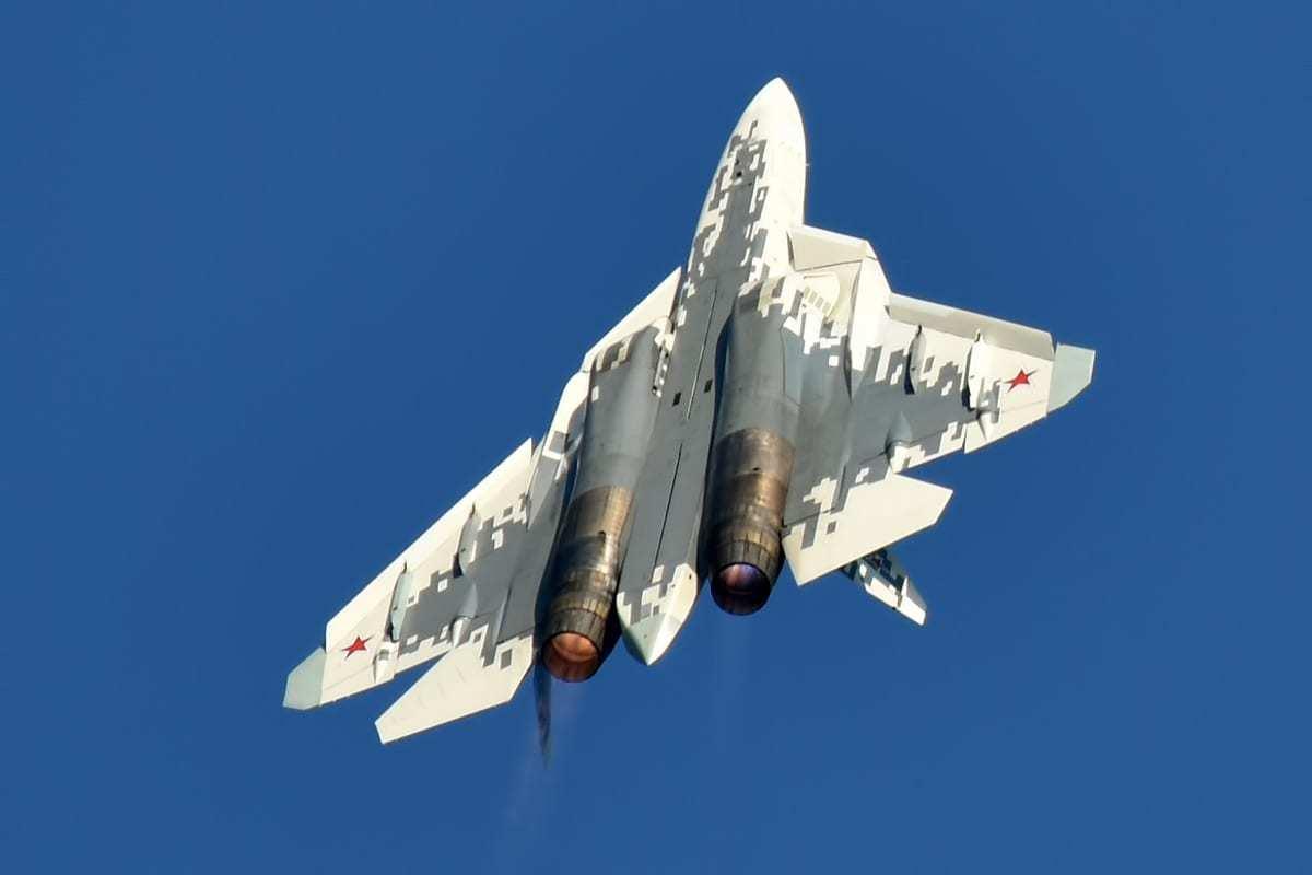 Su-57 Demo Flight.