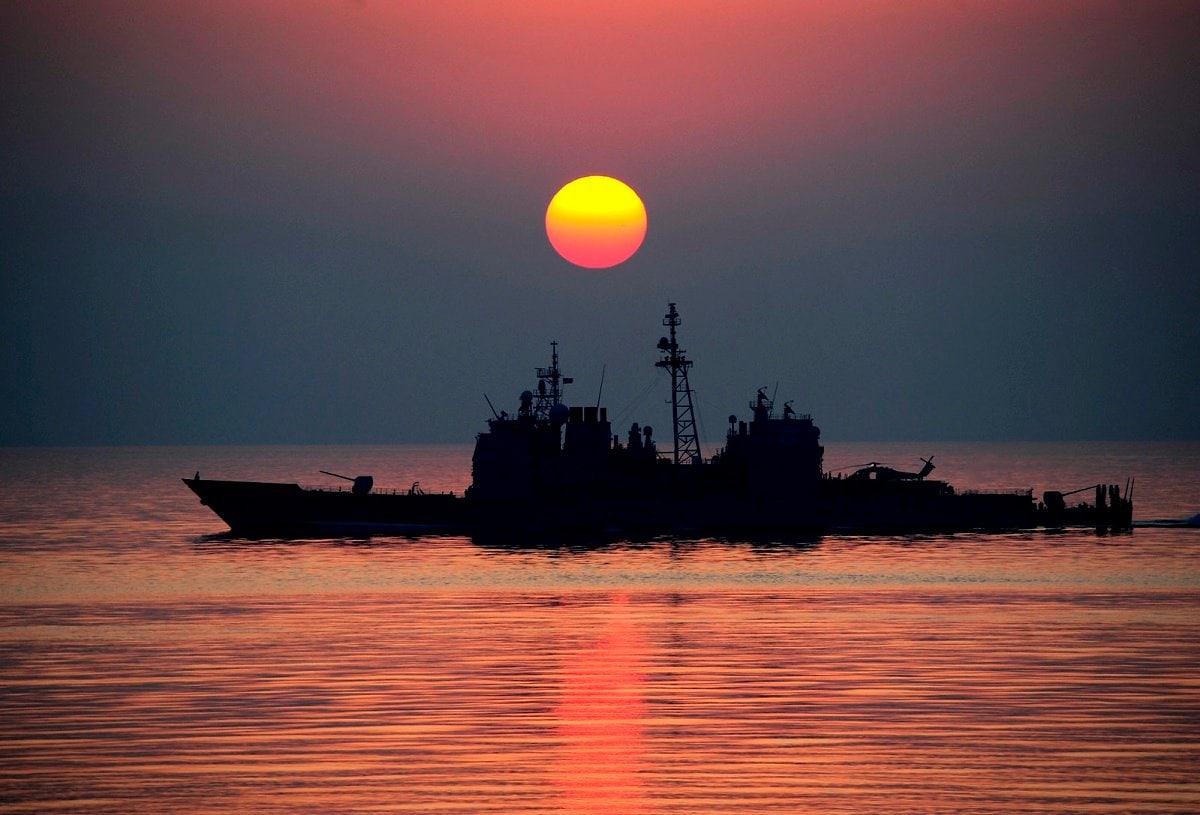 U.S. Navy in the Open Ocean