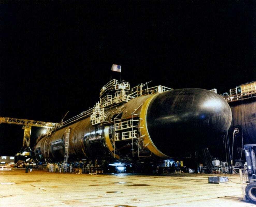 USS Seawolf (SSN-21) Construcion.