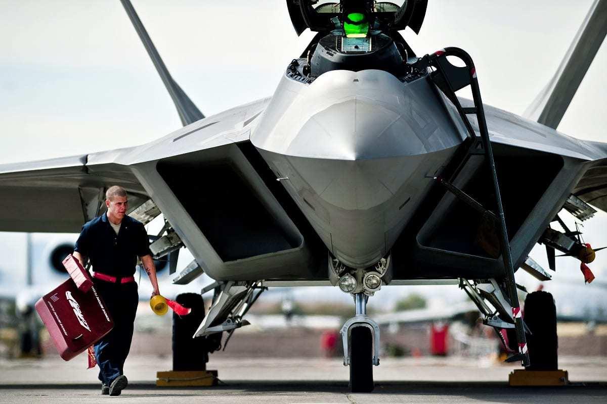 F-22 in 2011