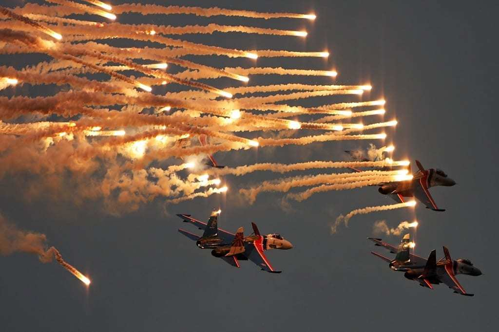 Su-27 Russian Knights
