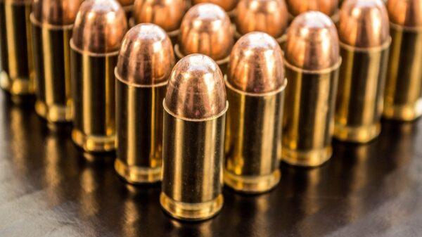 9mm Ammo Up Close
