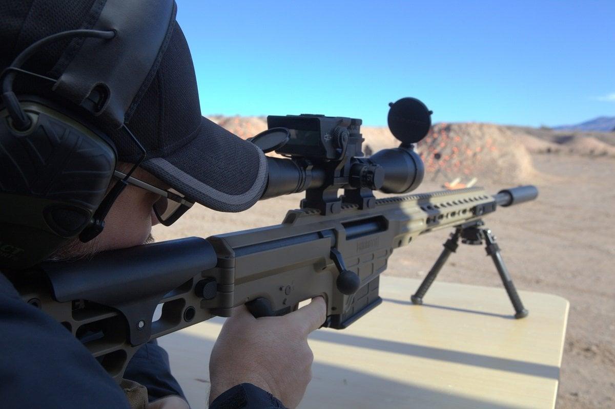 Barrett's MRAD Sniper Rifle