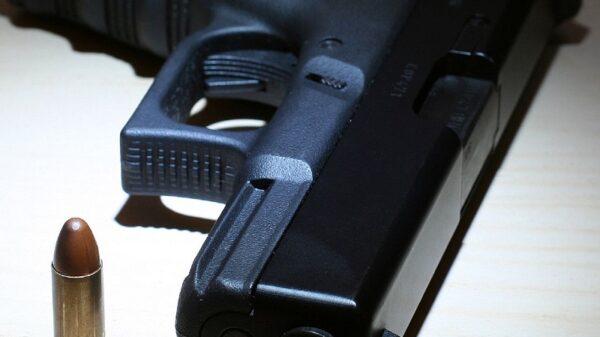 Glock 17 with ammo.