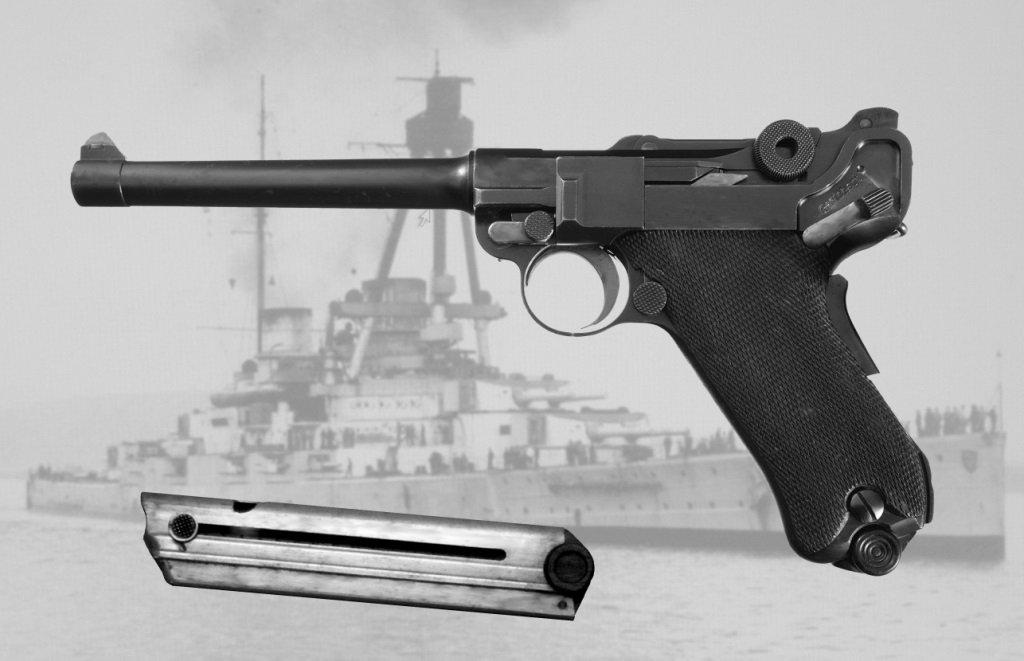 Luger for German Navy