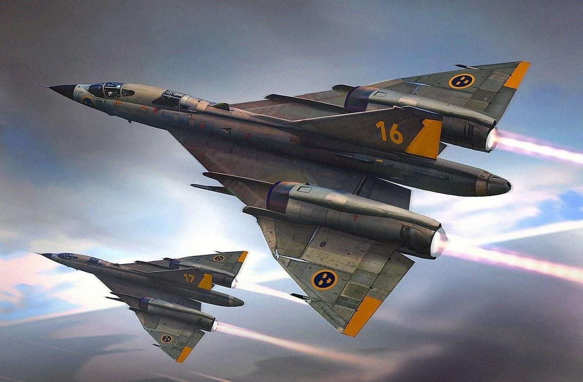 Saab A-36