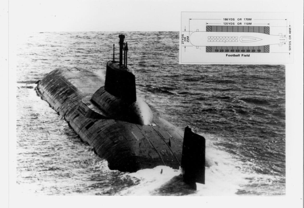 Typhoon-Class Submarine.