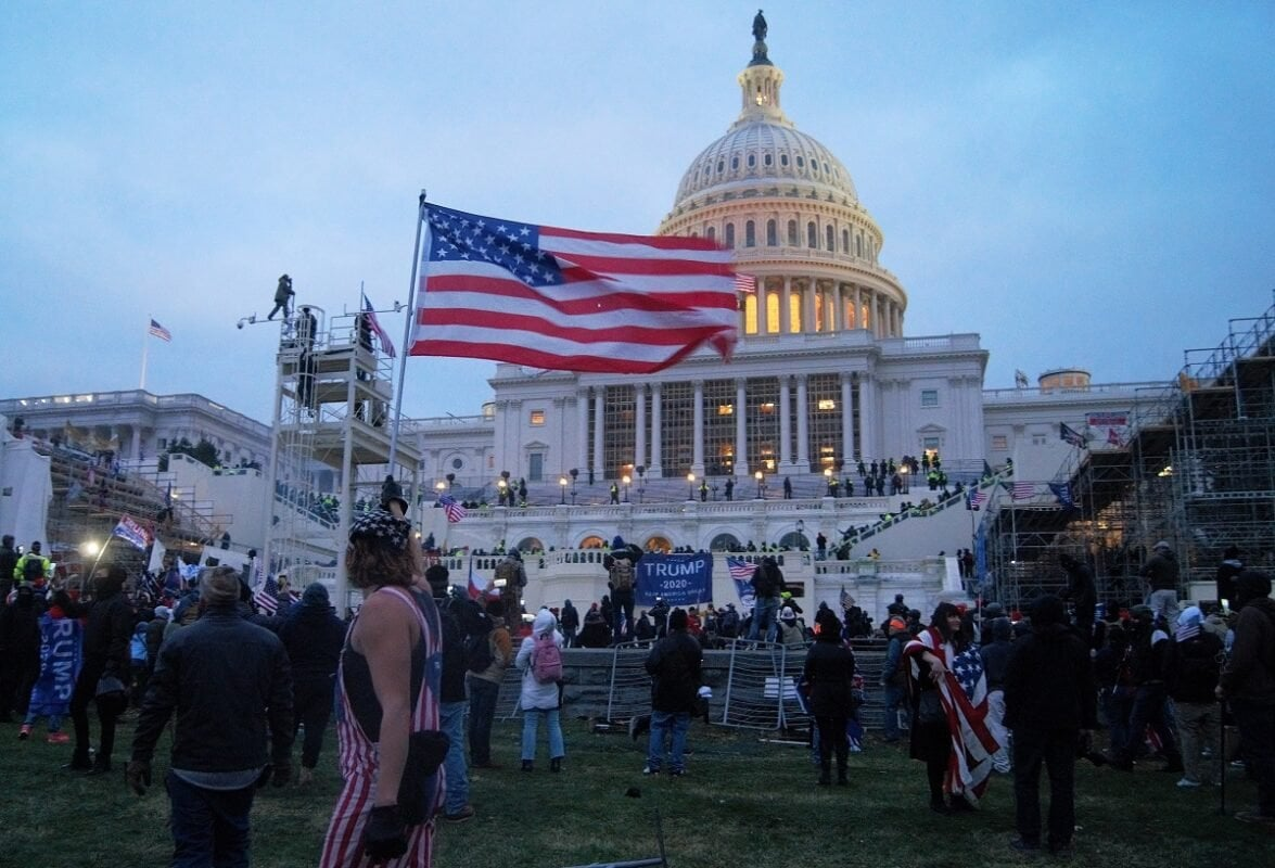 United States Capitol Stormed