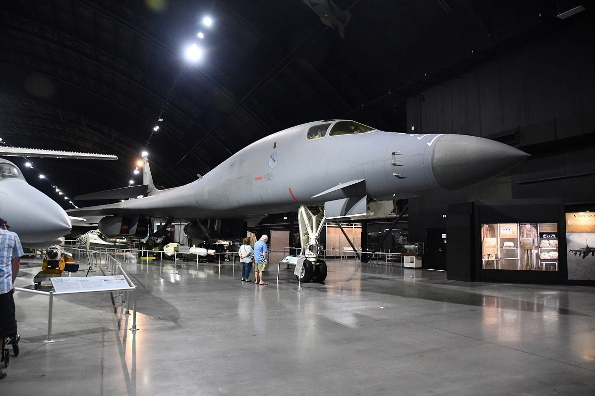B-1 Bomber Nuclear Weapons