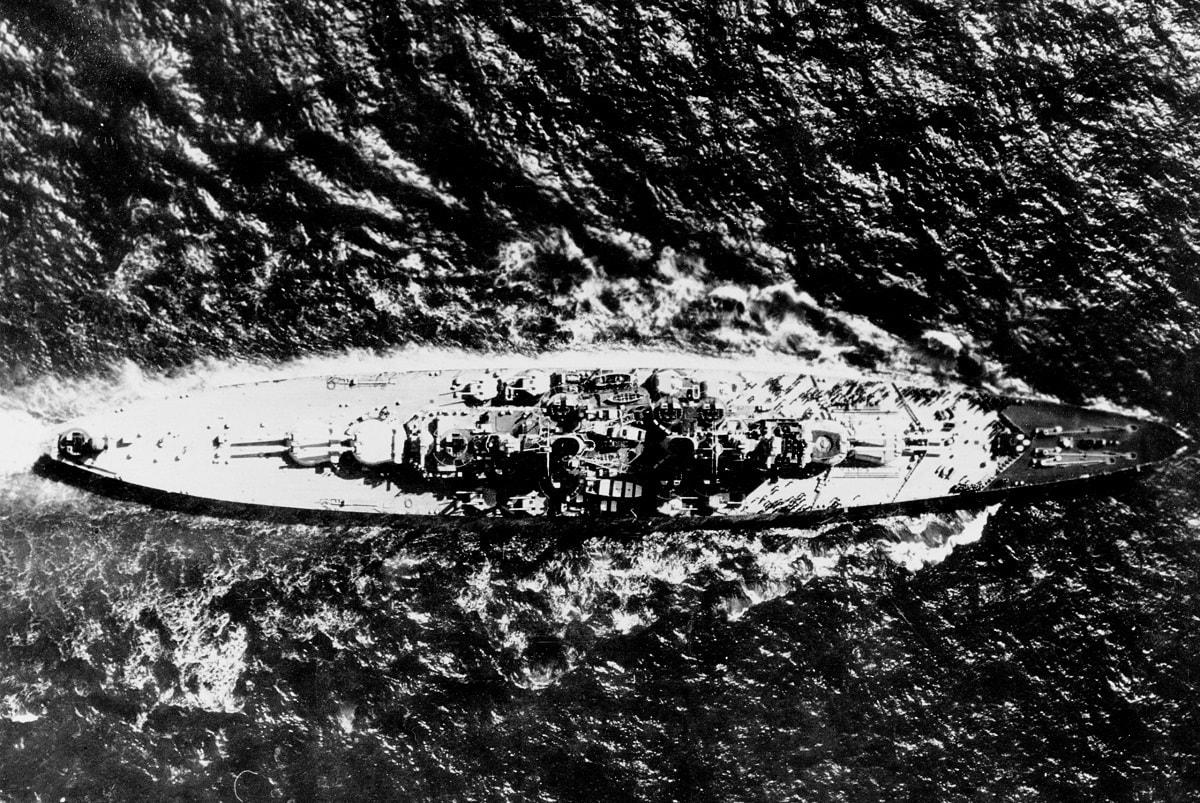 Last Battleship Battle