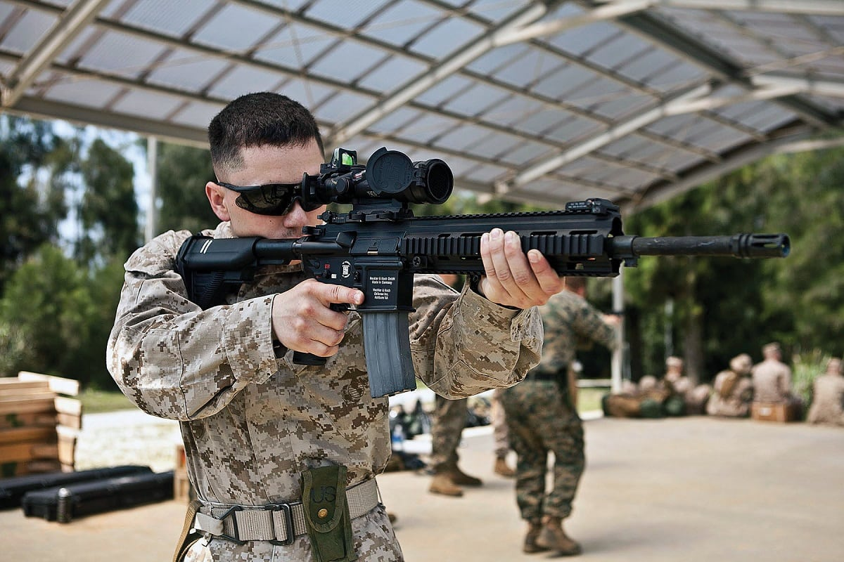 M27 Infantry Automatic Rifle