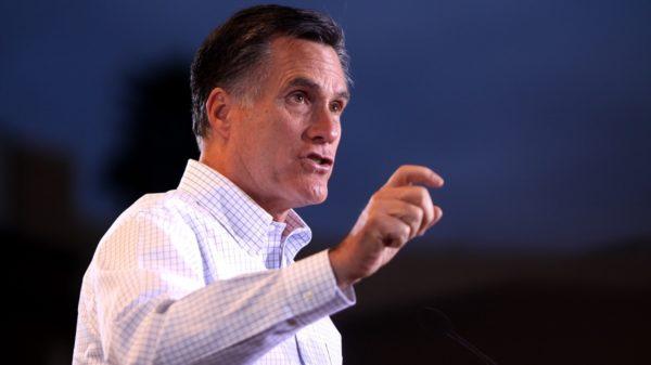 Mitt Romney and Tom Cotton