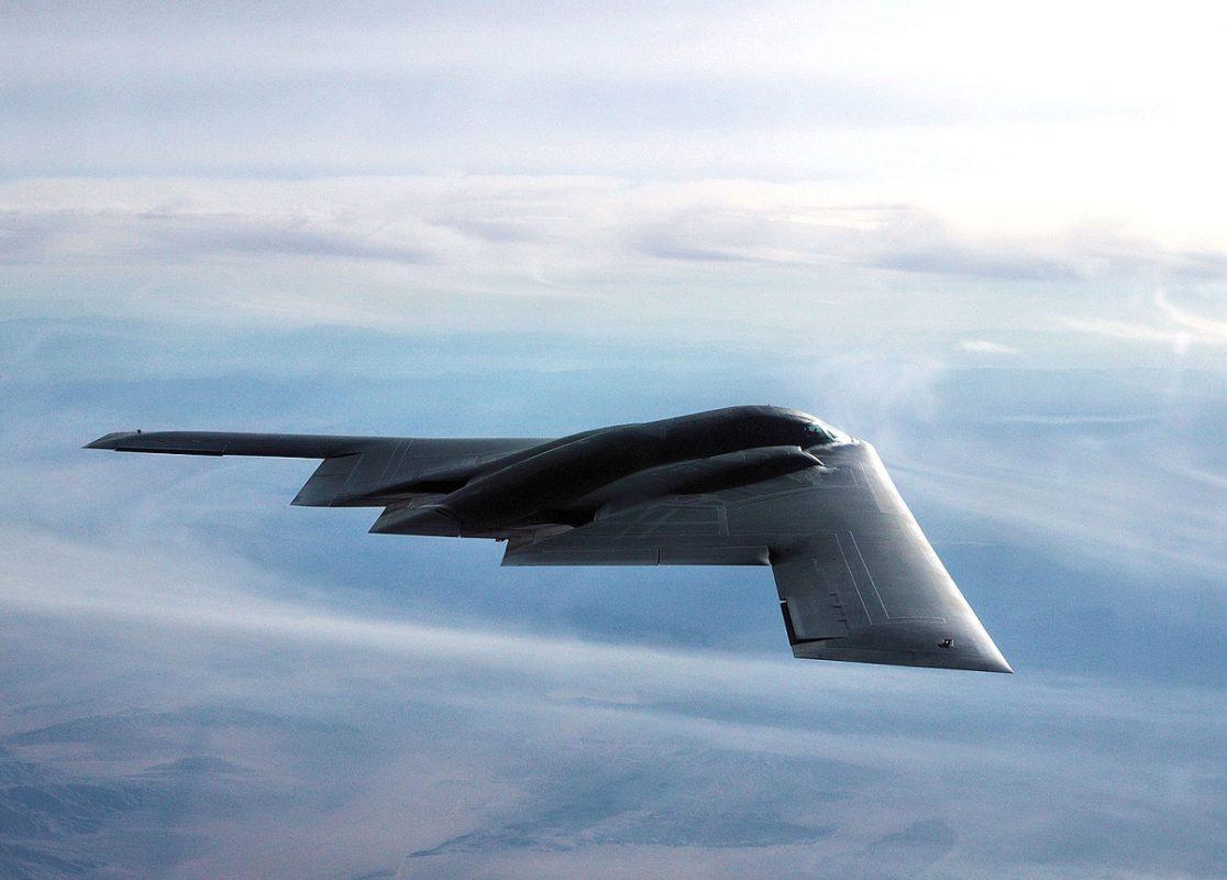 B-2 Bombers Flying in Utah