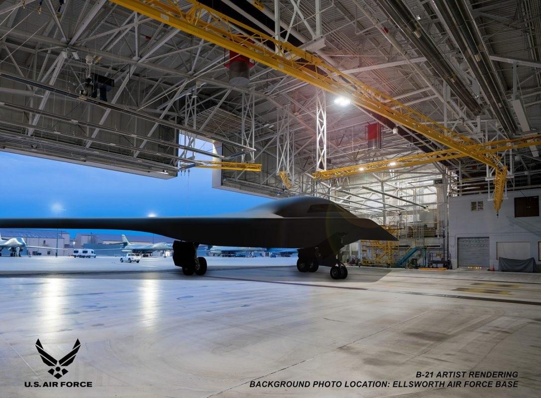 B-21 Raider Stealth Bomber